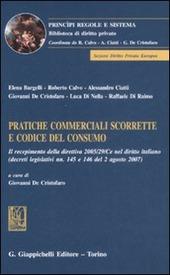 Pratiche commerciali scorrette e codice del consumo