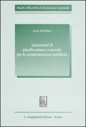 Lineamenti di pianificazione e controllo per le amministrazioni pubbliche