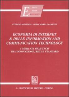 Listadelpopolo.it Economia di internet & delle information and communication technology. I mercati high-tech tra innovazione, reti e standard Image