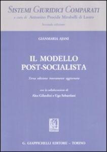 Foto Cover di Il modello post-socialista, Libro di Gianmaria Ajani, edito da Giappichelli