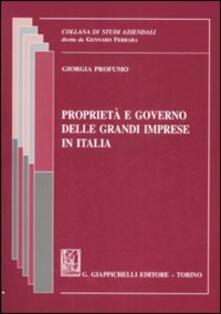 Rallydeicolliscaligeri.it Proprietà e governo delle grandi imprese in Italia Image