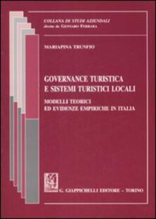 Governance turistica e sistemi turistici locali. Modelli teorici ed evidenze empiriche in Italia.pdf