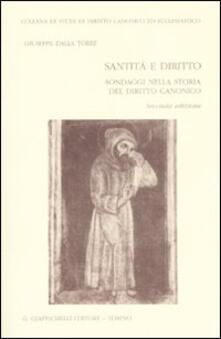 Antondemarirreguera.es Santità e diritto. Sondaggi nella storia del diritto canonico Image
