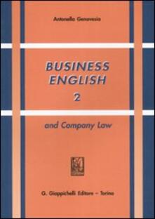 Capturtokyoedition.it Business english and Company Law. Vol. 2 Image