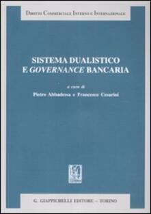 Sistema dualistico e governance bancaria.pdf