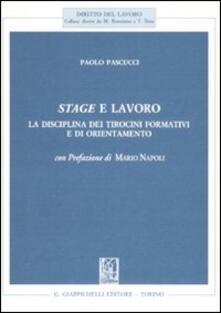 Lpgcsostenible.es Stage e lavoro. La disciplina dei tirocini formativi e di orientamento Image