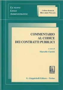 Libro Commentario al codice dei contratti pubblici