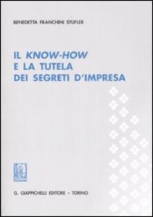 Fondazionesergioperlamusica.it Il know-how e la tutela dei segreti d'impresa Image
