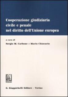Winniearcher.com Cooperazione giudiziaria civile e penale nel dirito dell'Unione europea Image