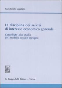 La disciplina dei servizi di interesse economico generale. Contributo allo studio del modello sociale europeo