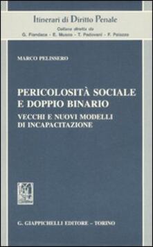 Pericolosità sociale e doppio binario. Vecchi e nuovi modelli di incapacitazione.pdf