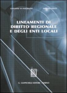 Lineamenti di diritto regionale e degli enti locali