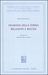 Filosofia della forma. Relazioni e regole
