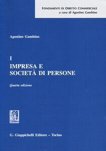 Libro Impresa e società di persone. Vol. 1 Agostino Gambino