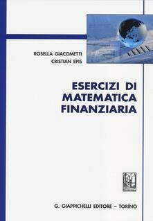 Esercizi di matematica finanziaria.pdf