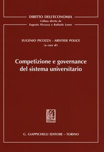 Foto Cover di Competizione e governance del sistema universitario, Libro di  edito da Giappichelli