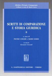 Foto Cover di Scritti di comparazione e storia giuridica. Vol. 2, Libro di  edito da Giappichelli