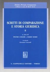 Scritti di comparazione e storia giuridica. Vol. 2