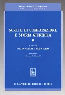 Ipabsantonioabatetrino.it Scritti di comparazione e storia giuridica. Vol. 2 Image