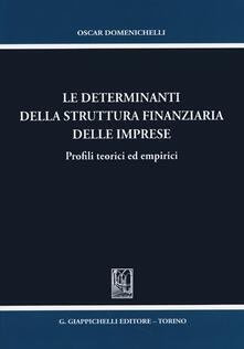 Aboutschuster.de Le determinanti della struttura finanziaria delle imprese. Profili teorici ed empirici Image