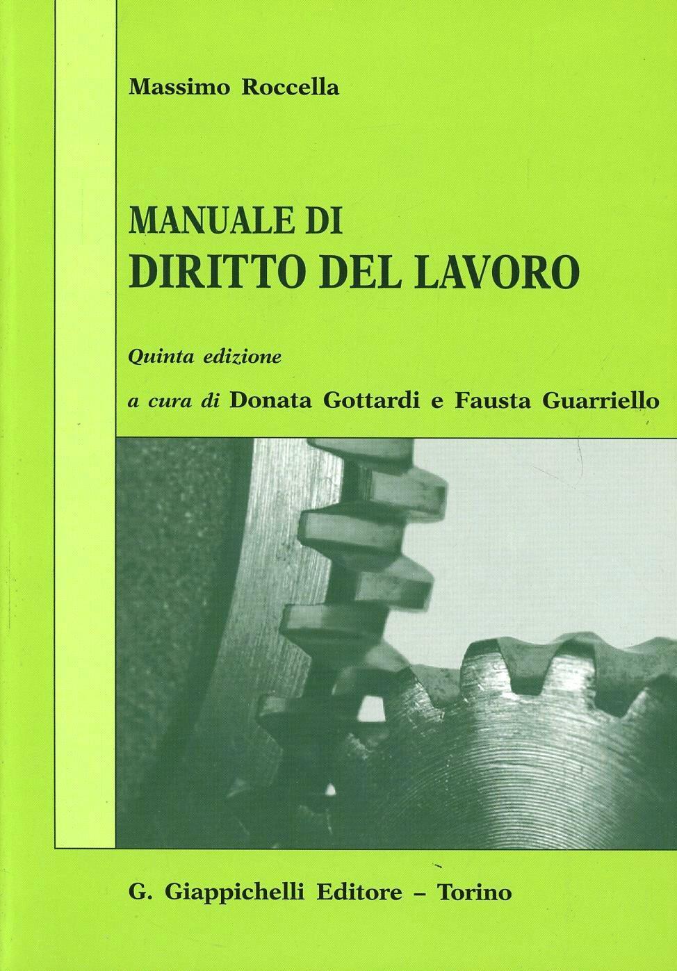 Manuale di Diritto del Lavoro 1 - Edizioni Simone