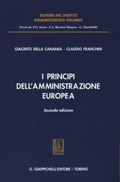 della Cananea G & Franchini C, I principi dell'amministrazione europea Image