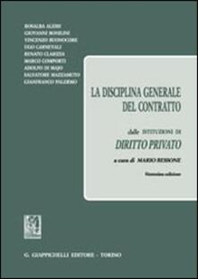 Antondemarirreguera.es La disciplina generale del contratto Image