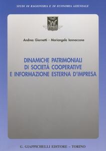 Dinamiche patrimoniali di società cooperative e informazione esterna d'impresa