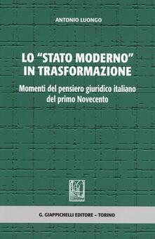 Squillogame.it Lo «stato moderno» in trasformazione. Momenti del pensiero giuridico italiano del primo Novecento Image