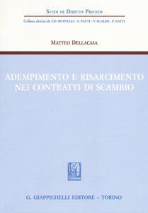 Adempimento e risarcimento nei contratti di scambio