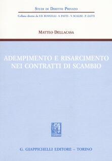 Adempimento e risarcimento nei contratti di scambio.pdf
