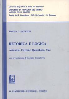 Antondemarirreguera.es Retorica e logica. Aristotele, Cicerone, Quintiliano, Vico Image