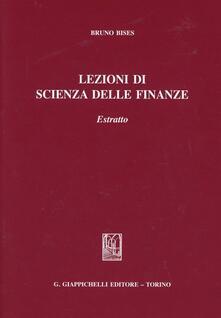 Filippodegasperi.it Lezioni di scienza delle finanze. Estratto Image