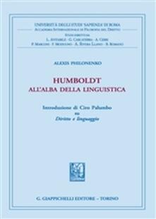 Daddyswing.es Humboldt all'alba della linguistica Image