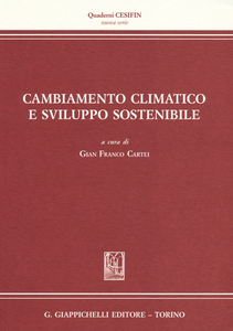 Libro Cambiamento climatico e sviluppo sostenibile