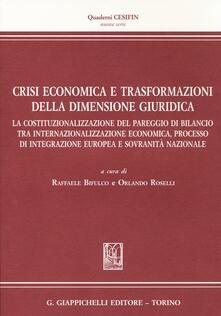 Camfeed.it Crisi economica e trasformazioni della dimensione giuridica Image