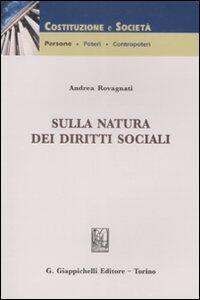 Sulla natura dei diritti sociali