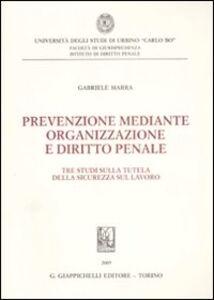 Libro Prevenzione mediante organizzazione e diritto penale. Tre studi sulla tutela della sicurezza sul lavoro Gabriele Marra