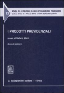 Libro I prodotti previdenziali