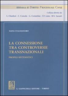 Fondazionesergioperlamusica.it La connessione tra controversie transnazionali. Profili sistematici Image