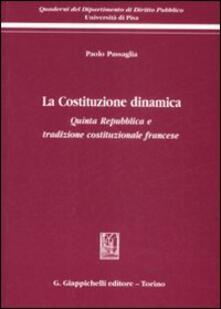 Camfeed.it La Costituzione dinamica. Quinta Repubblica e tradizione costituzionale francese Image