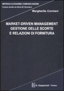 Mercatinidinataletorino.it Market-driven management. Gestione delle scorte e relazioni di fornitura Image