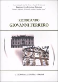 Steamcon.it Ricordando Giovanni Ferrero Image