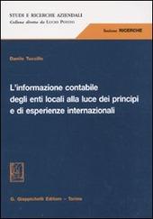 L' informazione contabile degli enti locali alla luce dei principi e di esperienze internazionali