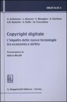 Winniearcher.com Copyright digitale. L'impatto delle nuove tecnologie tra economia e diritto Image