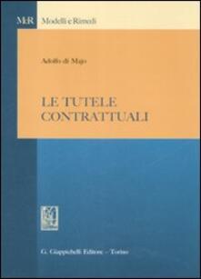Le tutele contrattuali - Adolfo Di Majo - copertina