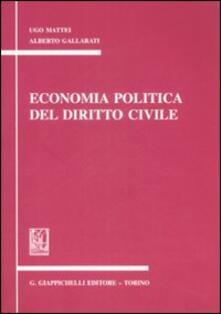 Winniearcher.com Economia politica del diritto civile. Appunti Image