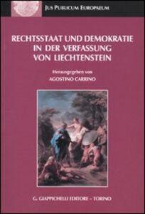 Libro Rechtsstaat und demokratie in der verfassung von liechtenstein