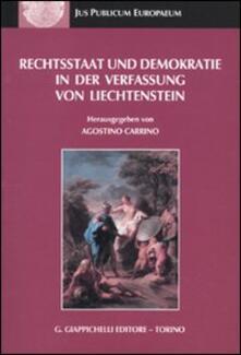 Amatigota.it Rechtsstaat und demokratie in der verfassung von liechtenstein Image
