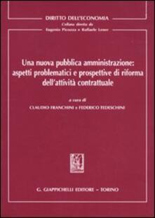 Winniearcher.com Una nuova pubblica amministrazione: aspetti problematici e prospettive di riforma dell'attività contrattuale Image